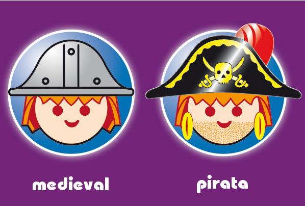 Playmobil Pirata y Medieval